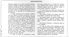 Julia Guarino; Nota sobre el Concurso del Frigorífico Municipal de Montevideo - Revista Arquitectura - Órgano Oficial de la Sociedad de Arquitectos, Montevideo,1924.