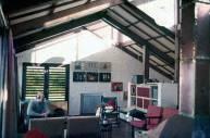 Lula Lapacó. Vista interior Casa Goldstein, Pinamar, 1967.