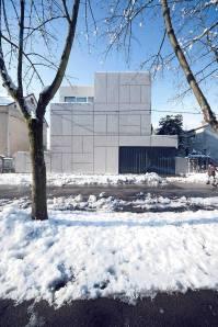 Špela Videčnik - OFIS Arhitekti; Villa Criss-Cross Envelope, Ljubljana, Eslovenia, 2012-2015.