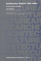 Joan Ockman. Portada del libro 'Architecture Culture 1943-1968'. Rizzoli. 1993.