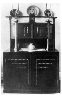 Else Oppler-Legband. Aparador y Comoda, 1906.