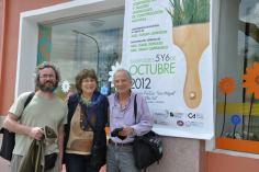 Isabel Donato con Pablo Capitanelli y Carlos Levinton