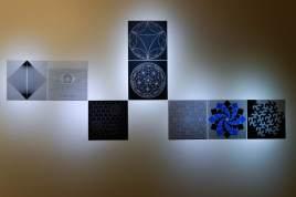 Anna Campbell Bliss Trabajos expuestos en el Edificio de Matematicas de la Universidad de Utah