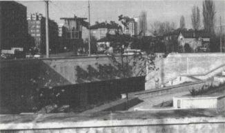 Dina Stancheva, pasaje pedestre debajo del bulevar Bulgaria, Sofía 1977-1983