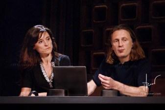 Isabel Herauld e Yves Arnod.