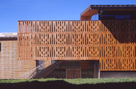 Isabel Herauld, Yves Arnod - Centro Cultural Deportivo y de Congresos, Los Alpes, 2005.