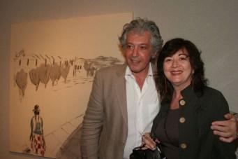 Diana Saiegh, Haby Bonomo. Exposición Olvidos. Museo E. Sivori, ciudad de Bs. As., 2007.
