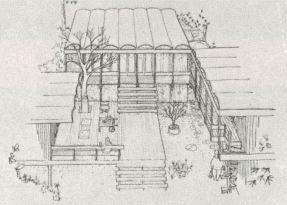 Margaret Robb Shook Cooper, Casa en Pine Knoll Shores, 1975