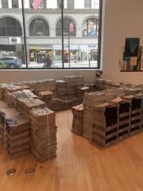 Nina Safainia, La casa de papel, exhibición en Nueva York
