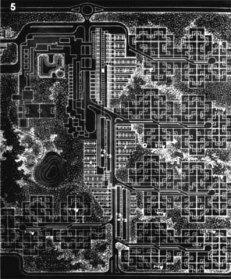 Luisa Anversa_Anteproyecto para la realización de un complejo residencial y centro cívico para 4000 empleados de la FIAT_Córdoba, Argentina_1966
