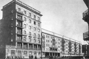 Tamara Davydovna Katsenelenbogen con Simonov, Rubanenko. Casa de los especialistas. San Petersburgo, 1934-37.
