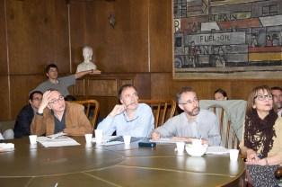 Angela Perdomo. Primer encuentro del grupo de trabajo del área de Proyecto y Representación del Nuevo Plan de Estudios de la carrera de Arquitectura. Noviembre 2011.
