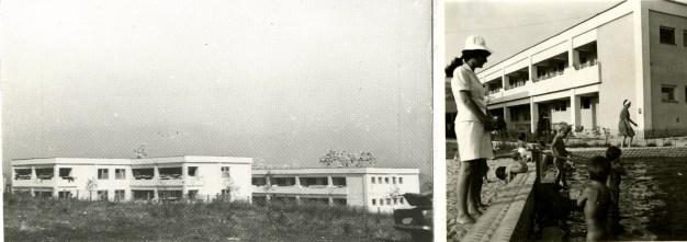 Silvia Păun. Orfanato en Slatina, 1972.