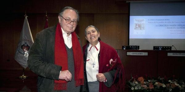 Graciela Viñuales y Ramón Gutierrez. Presentación del libro 'Historia de los pueblos de indios de Cusco y Apurímac' Universidad de Lima, Perú, Octubre 2014.
