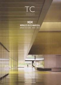 Sara de Giles Dubois. Portada de la Monografía sobre el estudio MGM - MORALES DE GILES. Tribuna de la Construcción. 2012.