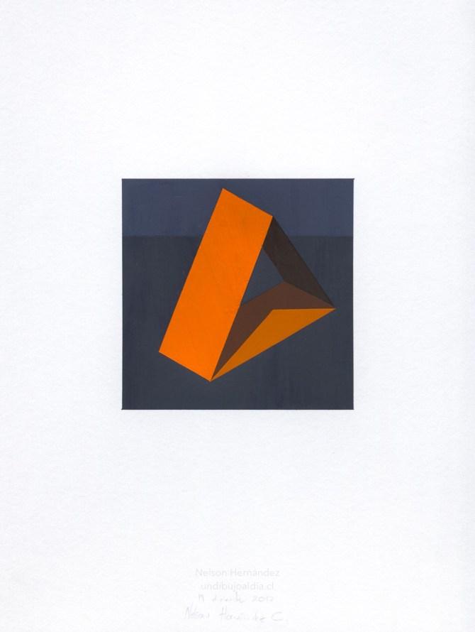 tres rectángulos naranjas