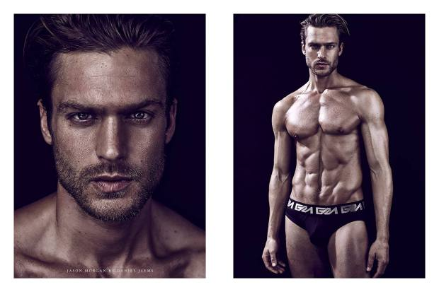 Jason Morgan shot by Daniel Jaems for Garcon Model-3
