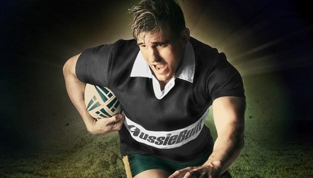 Aussiebum Rugby Jersey Black