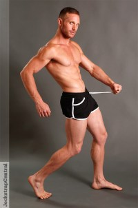 American Jock Gym Gerry Black Shorts