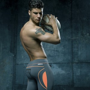 Model Cody Calafiore CIN2 Athletic Wear Shirtless