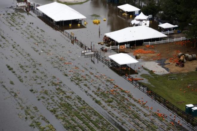 Boon Hall Flooding