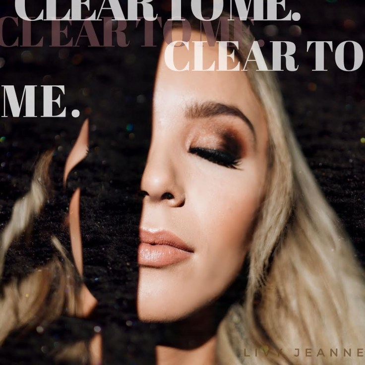 Clear to Me Release July 15, 2020.  This is the cover art