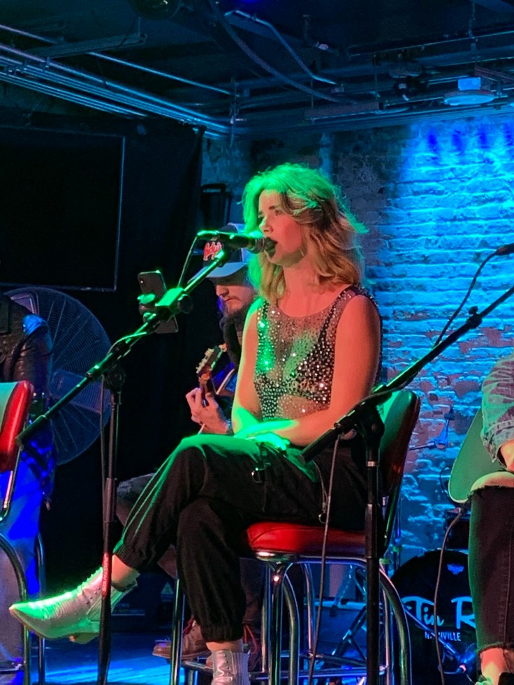Alexandria Corn is performing at Tin Roof Broadway in Nashville.