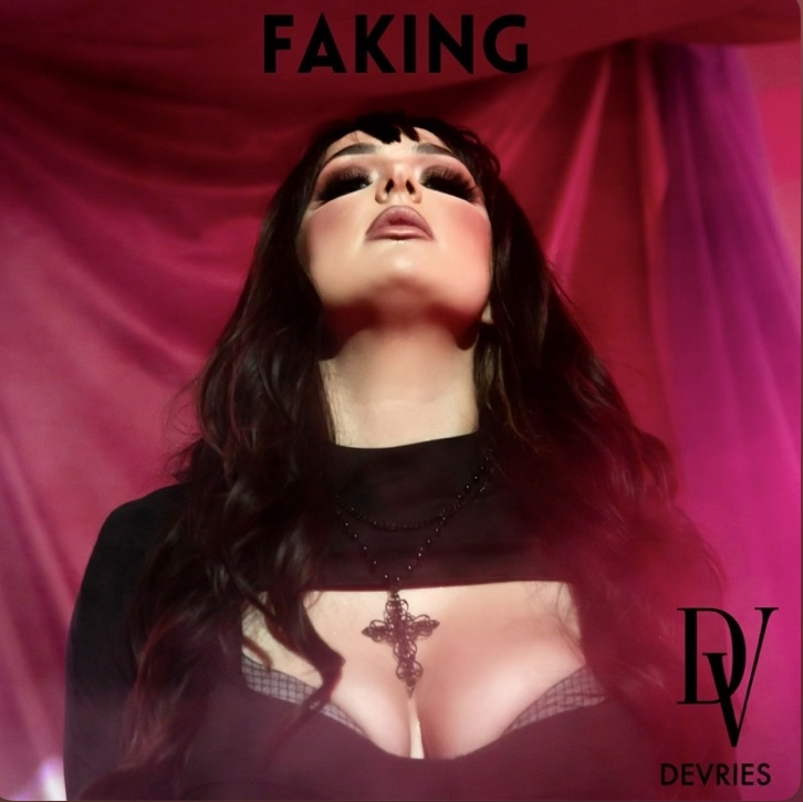 """Cover art for """"Faking,"""" the new single from DeVries"""
