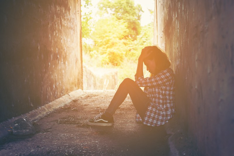 tristesse solitude depression