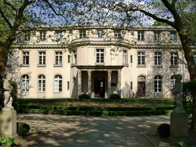 Villa Marlier Conférence Wannsee
