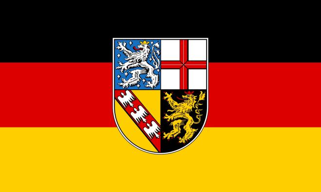 drapeau de la Sarre