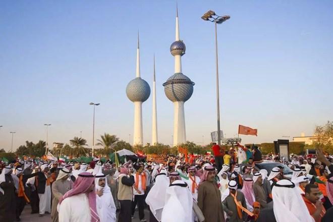 Manifestations au Koweït 30/11/2012