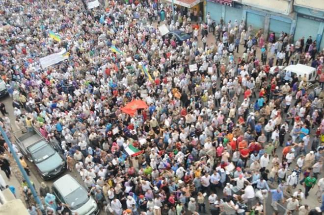 maroc manifestations