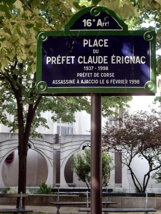 place erignac paris