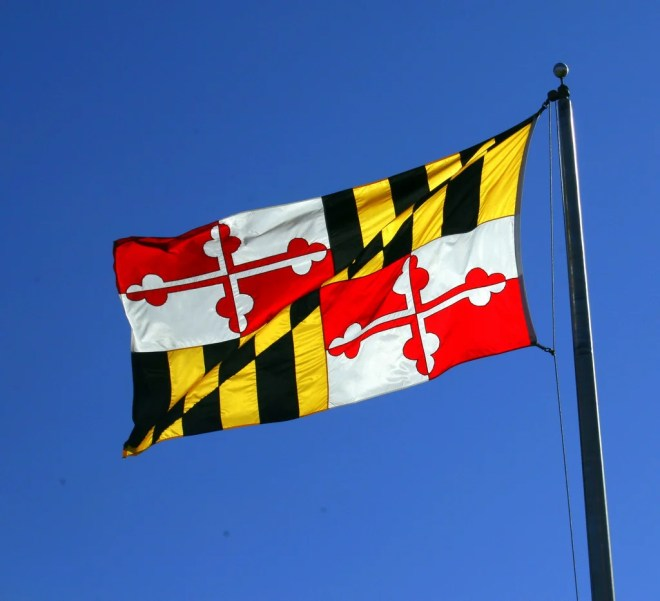 maryland flag photo