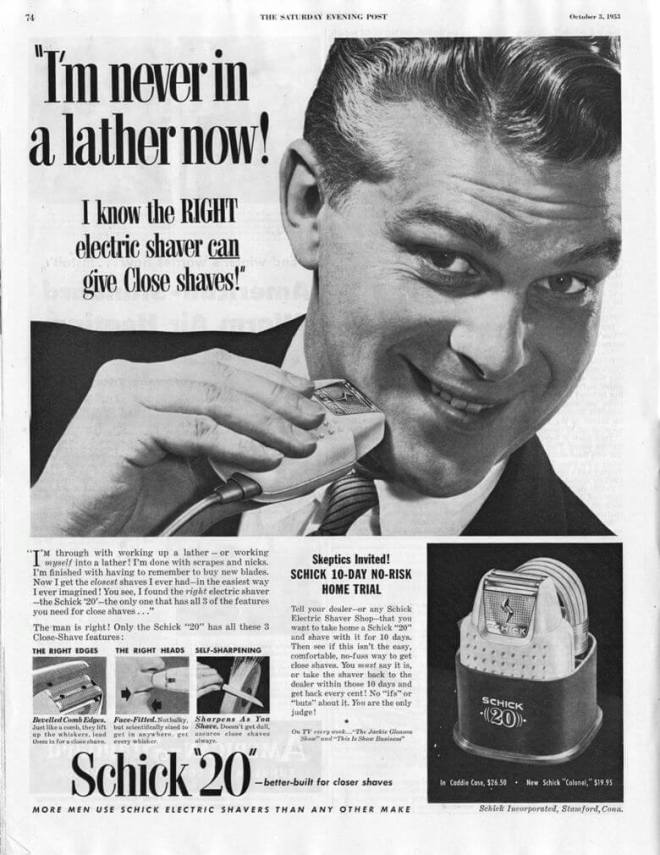 Schick rasoir électrique
