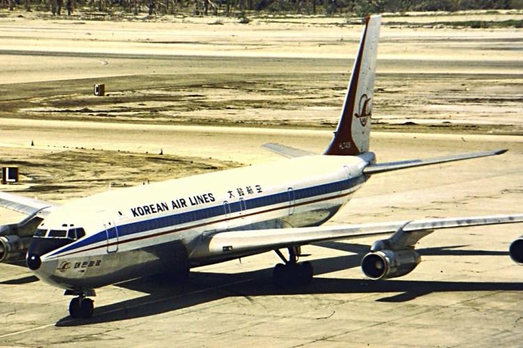 boeing 707 korean photo