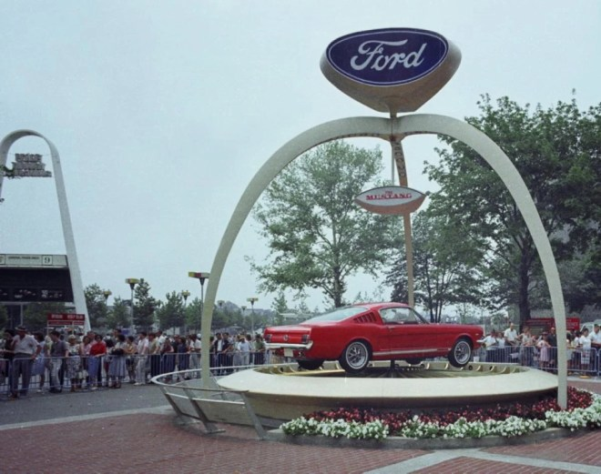 Présentation de la Ford Mustang
