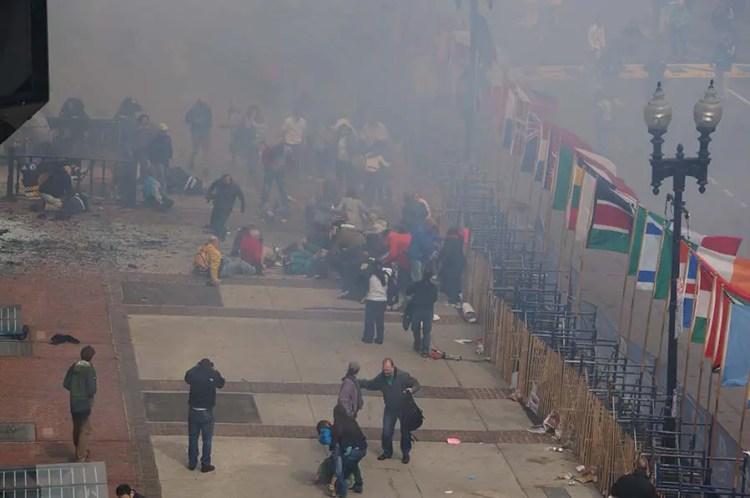 explosion marathon boston