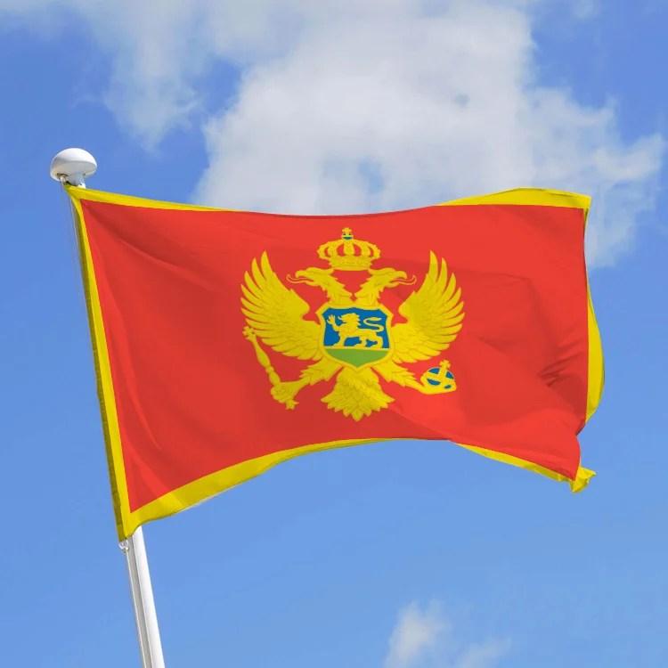 drapeau monténégro