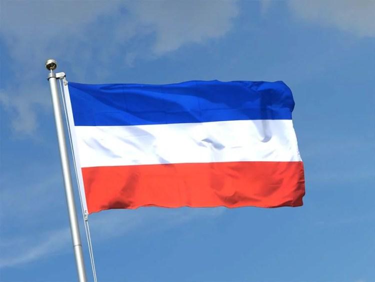 drapeau serbie montenegro