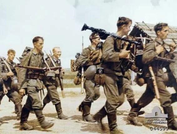 soldats allemands en russie