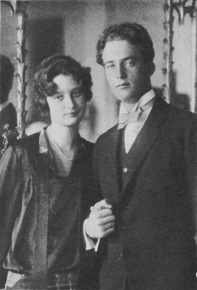 princesse Astrid et Roi Léopold III un 1er août