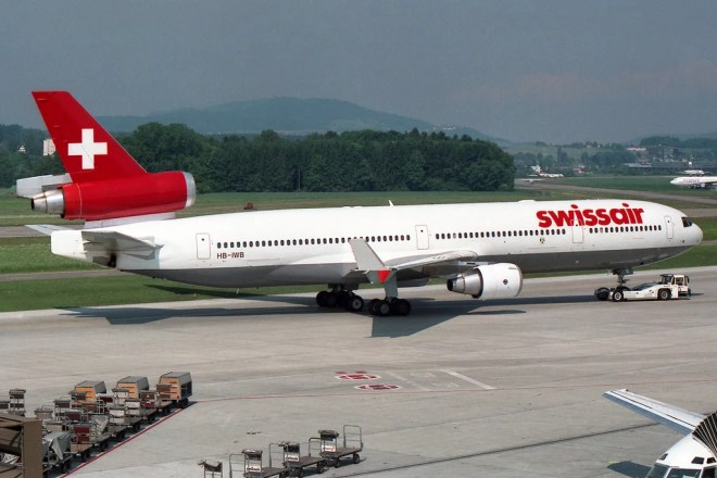 swissair photo