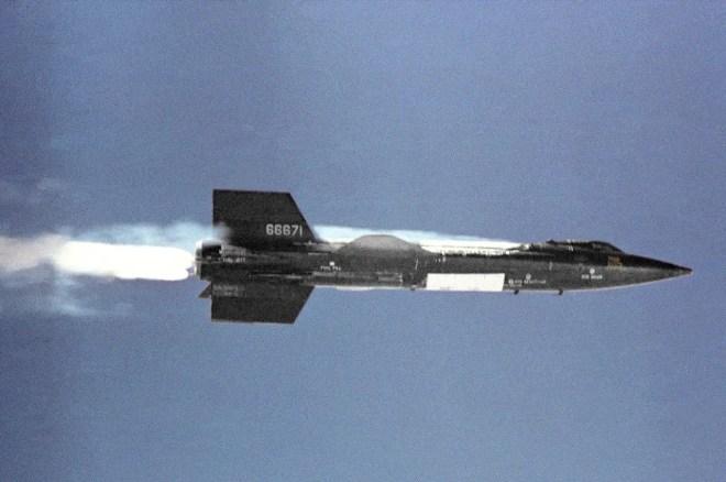 X-15 en vol