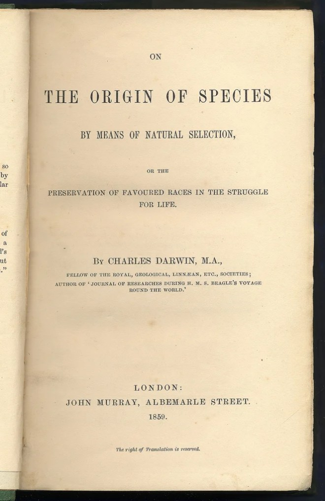 On the Origin of Species by Means of Natural Selection photo