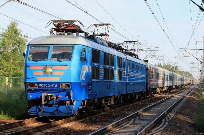 train russia photo