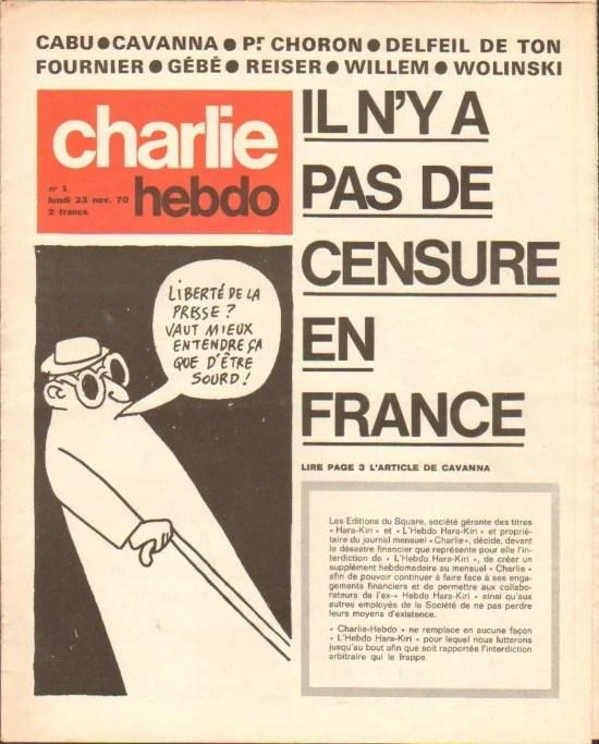 charlie hebdo 1970 photo