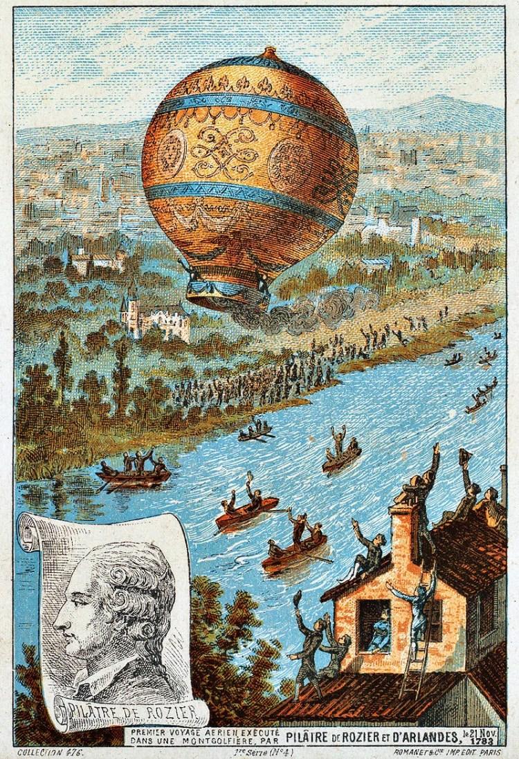 premier vol habité montgolfière