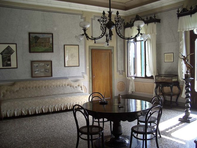 table armistice Villa_Giusti